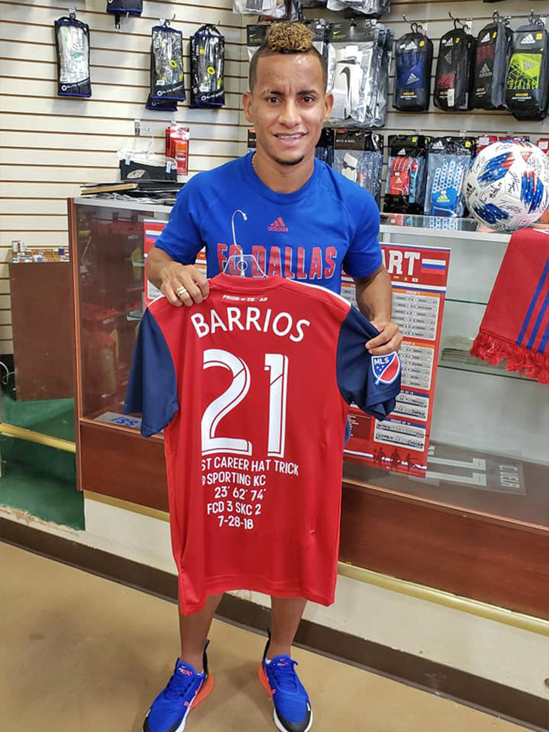 Michael Barrios at Soccer City Frisco