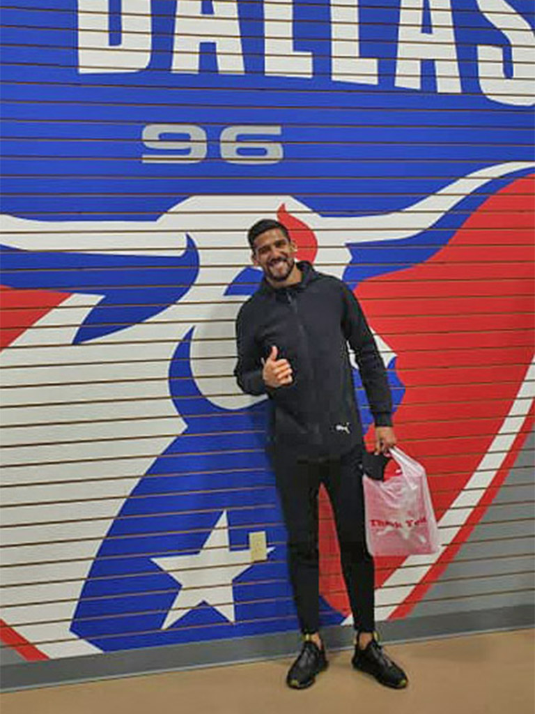 Franco Jara at Soccer City Frisco