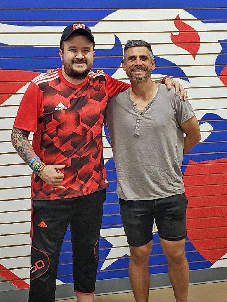 Luchi Gonzalez at Soccer City Frisco