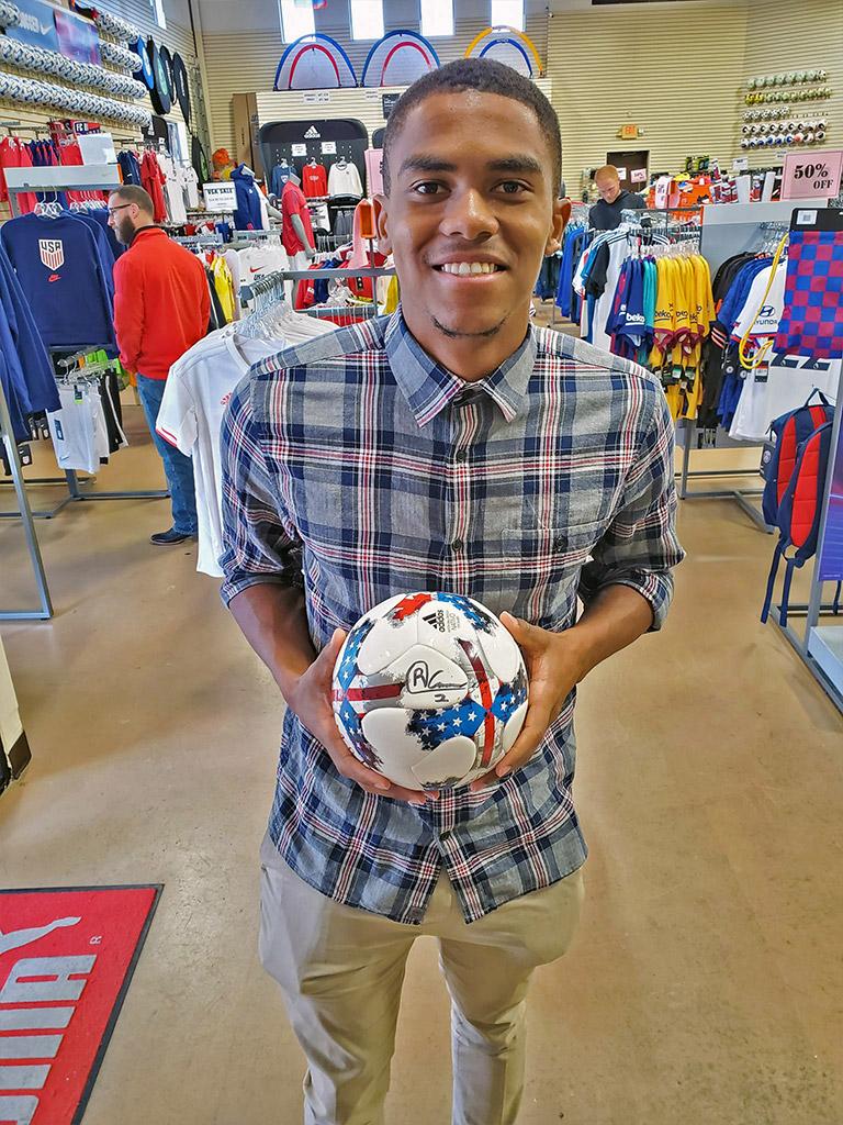 Reggie Cannon at Soccer City Frisco