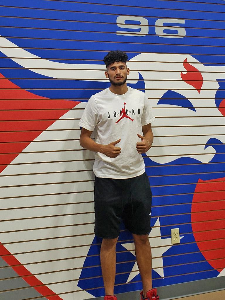 Ricardo Pepi at Soccer City Frisco