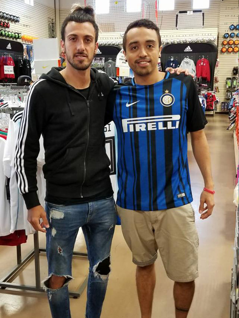 Maxi Urruti at Soccer City Frisco
